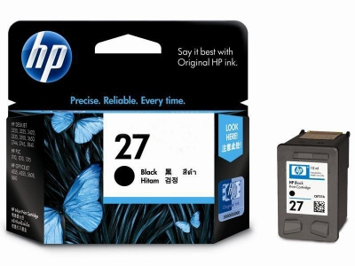 HP Ink Cartridge 27 Black